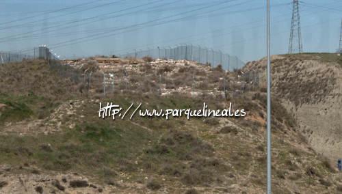 parte trasera del poblado de la gavia