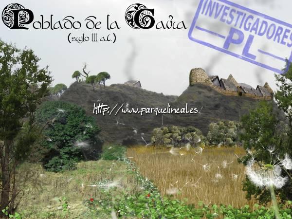 reconstrucción del poblado carpetano de la gavia