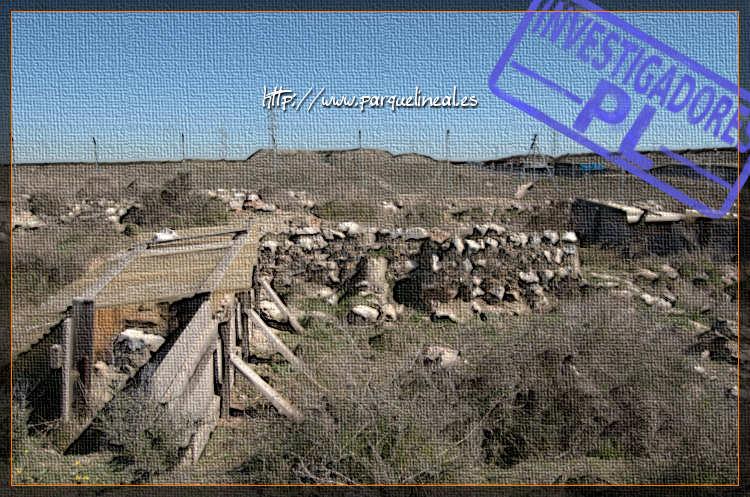 restos del poblado de la gavia