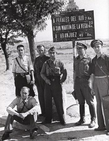 milicianos al norte de VillaVerde