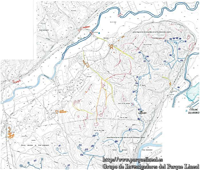 mapa batalla jarama espolon vaciamadrid