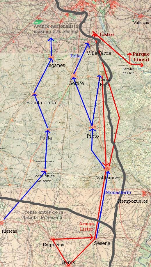 mapa batalla de seseña