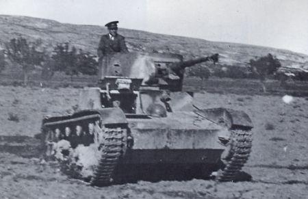 tanque t-26 en seseña