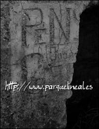 inscripción en trinchera