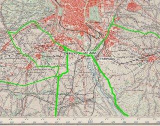 mapa villaverde guerra civil