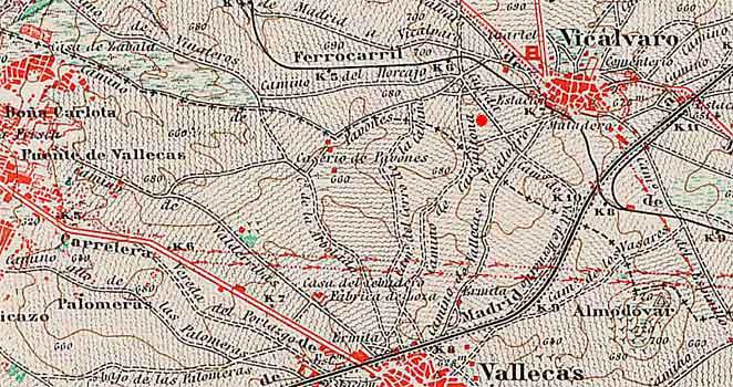 mapa carrantona