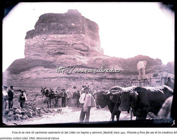 Yacimiento de San Isidro en 1911