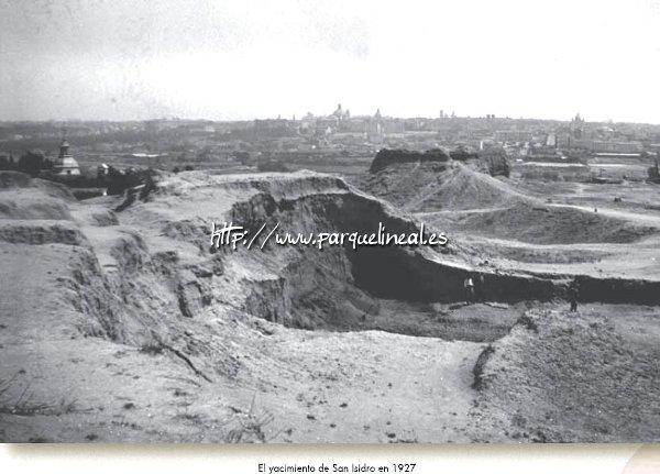 Yacimiento de San Isidro en 1927