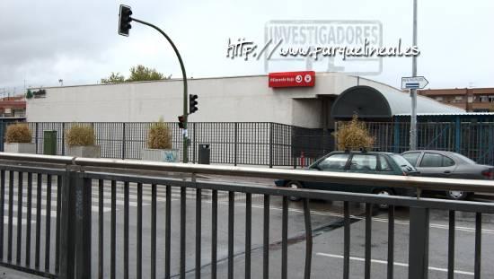 estacion moderna de villaverde bajo