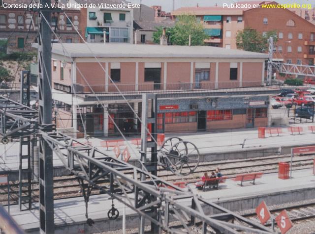 estación villaverde bajo reconstruida