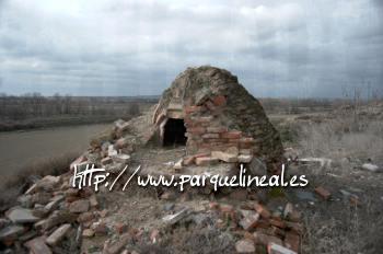 horno conservado en el Parque Lineal