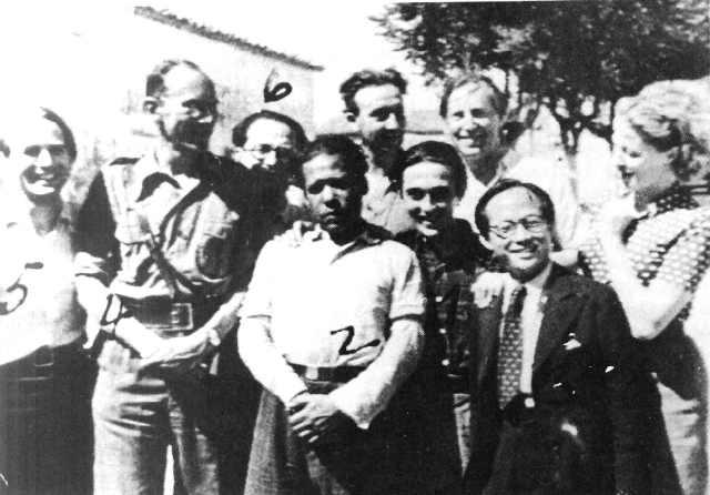 Ludwig Renn el Congreso de Escritores Antifascistas. Julio.1937.