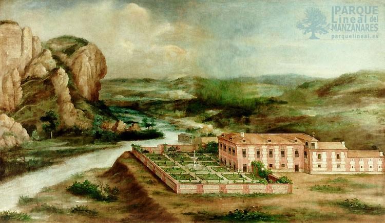 Cuadro casa Felipe II en Vaciamadrid