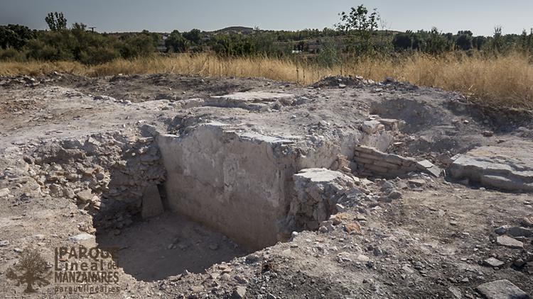 excavación arqueológica ayuntamiento vaciamadrid