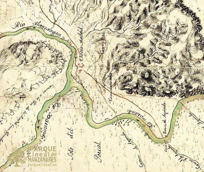 mapa vaciamadrid 1770