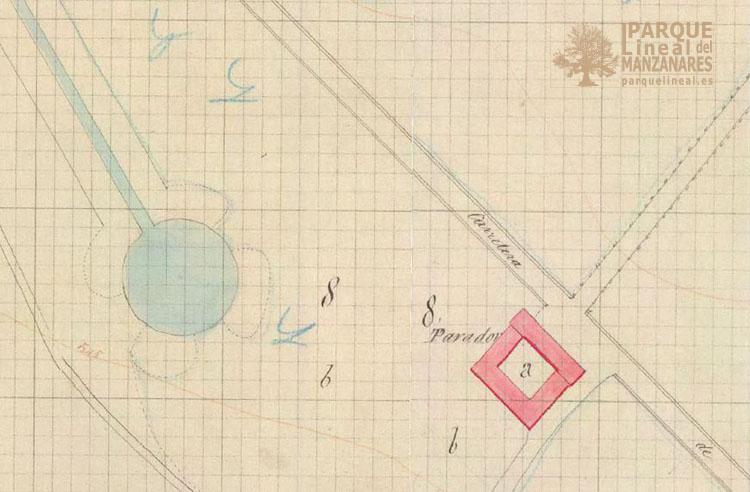 Plano catastral de vaciamadrid 1860