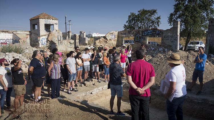 visita excavación arqueológica